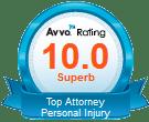 Avvo 10.0 Superb Rating Logo