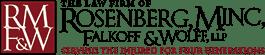 Rosenberg, Minc, Falkoff, & Wolff Logo